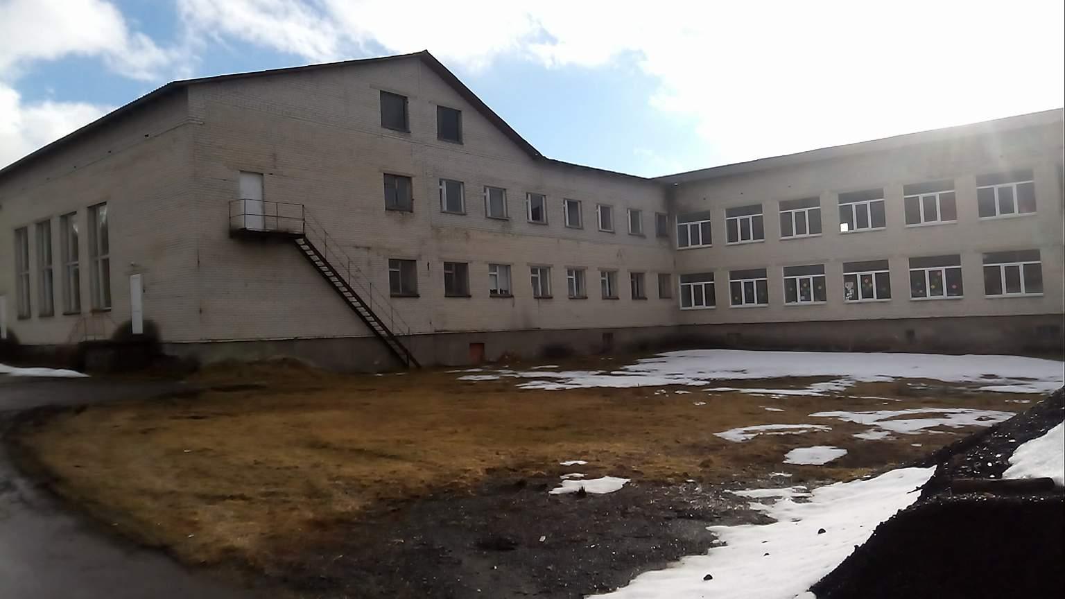 Водогрійна котельня Орявської середньої школи.